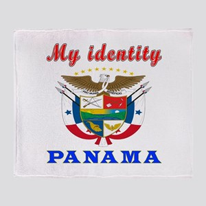 My Identity Panama Throw Blanket